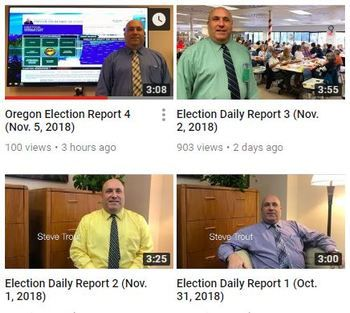 Oregon election report