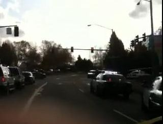 Frame from video of the shooting scene in Tualatin Oregon