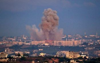 Zionist attack on Gaza