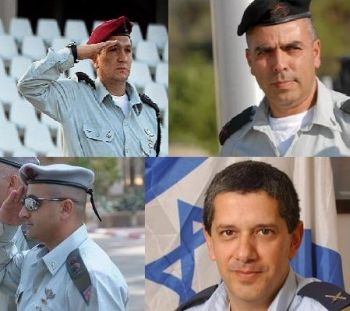 Four of the IDF members accused of war crimes from an anonymous member of the Israeli military.