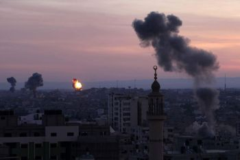 Gaza under attack by Israeli rockets