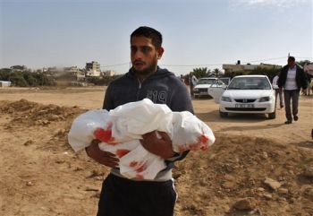 Another one of Israel's alleged 'terrorist' victims. - a baby