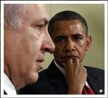Israeli PM Benjamin Netanyahu and U.S. Pres. Barack Obama