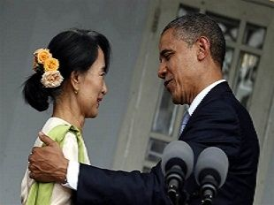 Suu Kyi and Obama