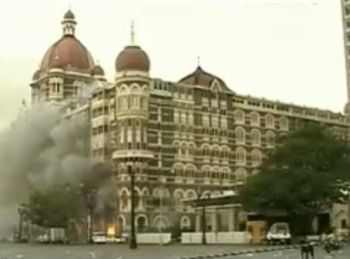 The Taj Hotel at Mumbai