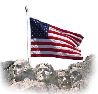 mt rushmore flag