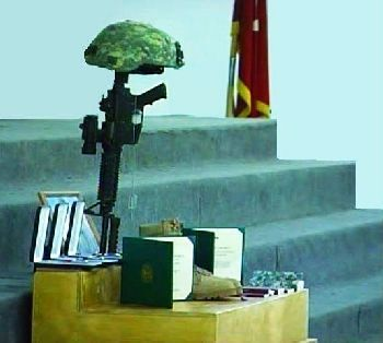 Service in Kabul, Afghanistan for Scott Lundell of Utah, a Lieutenant killed fighting in Kandahar.