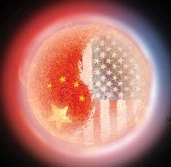China and USA in the world