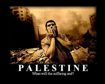 Palestine suffering
