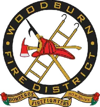 Woodburn, Oregon Fire District logo