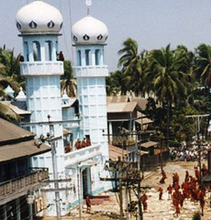 Jame Mosque in Burma
