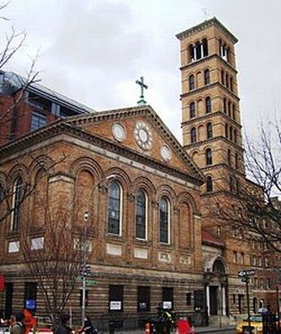 Manhattan's Judson Memorial Church
