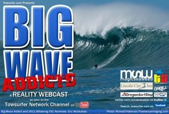 Big-Wave Addicts Debuts on YouTube's TowsurferNetwork