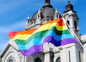 Catholic anti-gay actions in Minnesota