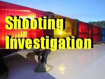 Shooting investigation logo