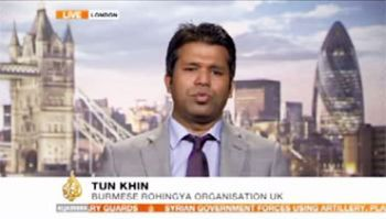 Tun Khin, President of the Burmese Rohingya Organisation