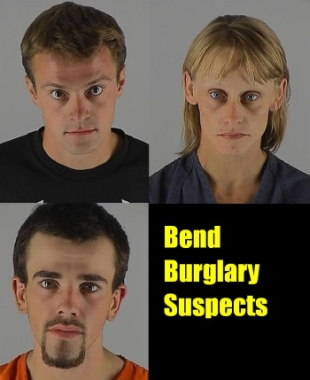Suspects inb Bend, Oregon burglary case