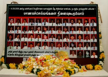 Children involved in the Sencholai massacre