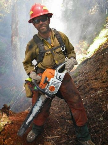 Oregon firefighter