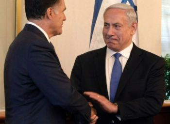 Romney and Bibi