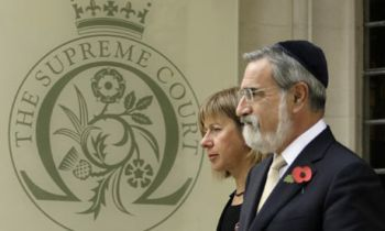Britain's Chief Rabbi, Lord Sacks